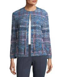 St. John - Fil Coupe Knit Jacket - Lyst