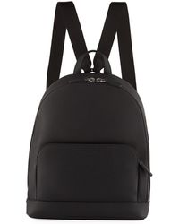 4520f0c881 Giorgio Armani - Men s Tumbled Calf Leather Backpack - Lyst
