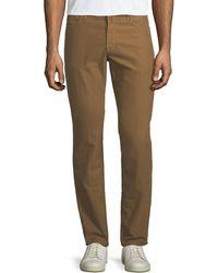 Incotex - Brushed Twill Five-pocket Pants - Lyst