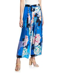 Johnny Was - Tura Wrapped Pant - Lyst