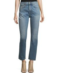 Brock Collection | Wright Classic High-waist Cigarette Jeans | Lyst