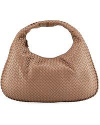 Hobo Gray Veneta Large Bag Intrecciato 1lcuTF3KJ