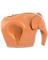 Loewe - Elephant Charm Keychain - Lyst