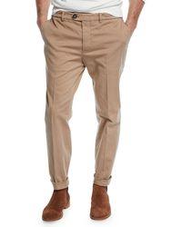 Brunello Cucinelli - Men's Basic Fit Chino Pants - Lyst