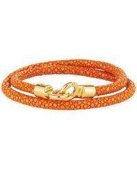 Brace Humanity - Men's Stingray Wrap Bracelet - Lyst