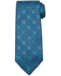 Charvet - Adjoining Large-dot Silk Tie - Lyst