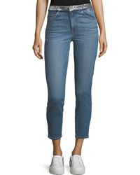 IRO - Jones Skinny-leg Jeans With Sequined Waistband - Lyst