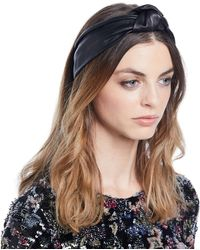 Jennifer Behr - Knotted Leather Head Wrap - Lyst