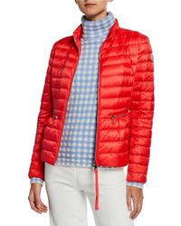e605c0a85 Lyst - Moncler Almandin Quilted Puffer Jacket in Natural