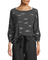 Eileen Fisher - Pattern Sweater - Lyst