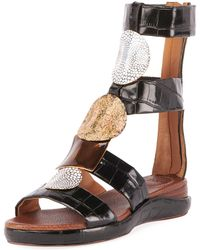 636c6c43ce5 Lyst - Chloé Gladiator - Chloé Gladiator Sandals
