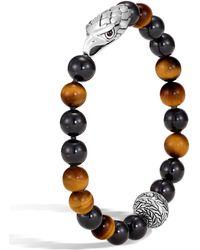 John Hardy - Men's Legends Eagle Bead Bracelet - Lyst