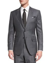 Tom Ford - O'connor Base Irregular Canvas Two-piece Suit - Lyst