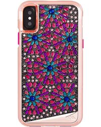 Case-Mate - Brilliance Brooch Iphone X Case - Lyst