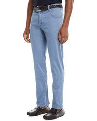 Kiton - Men's Straight-leg Twill Pants - Lyst