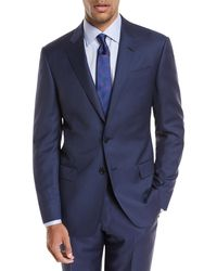 Giorgio Armani - Pinstriped Wool Two-piece Suit - Lyst