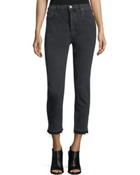 The Great - The Fellow Vintage Cropped Jeans - Lyst