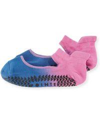 Pointe Studio   Nina Ombre Lightweight Grip Strap Socks   Lyst