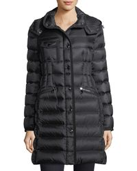 31d5f004a Moncler Montblanc Quilted Puffer Jacket in White - Lyst