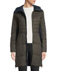 Bogner - Jill Fitted Puffer Coat W/ Hood - Lyst