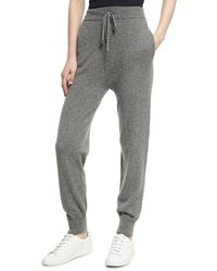 Agnona - Cashmere High-waist Jogger Pants - Lyst