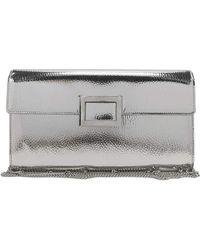 Roger Vivier - Viv Mirrored Envelope Clutch Bag - Lyst 5caec0bc07948