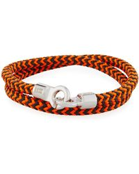 Brace Humanity - Men's Double Tour Braided Wrap Bracelet - Lyst
