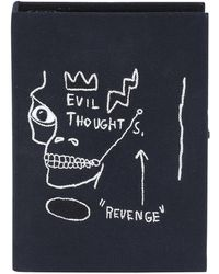 Olympia Le-Tan - Basquiat® Revenge Black Frame Edition Book Clutch Bag - Lyst