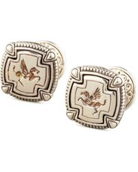 Konstantino - Pegasus Carved Silver Cuff Links - Lyst