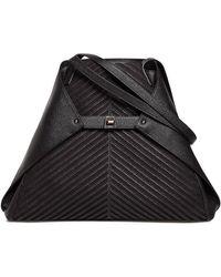 Akris - Ai Medium Soft Leather Shoulder Bag - Lyst