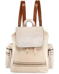 Brunello Cucinelli - Multi-pocket Leather Backpack - Lyst