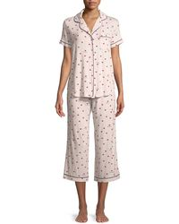 Kate Spade - Ladybug Classic Capri Pajama Set - Lyst