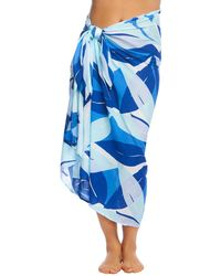 662183525e Gottex Seraphine Pareo Swim Cover Up in Blue - Lyst