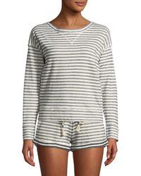 Skin - Charlie Striped Sweatshirt - Lyst