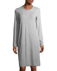 Hanro | Enie Long-sleeve Jersey Nightgown | Lyst