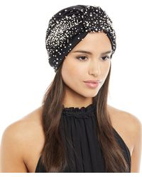 Jennifer Behr - Full Turban W/ Scattered Pearly Beads - Lyst