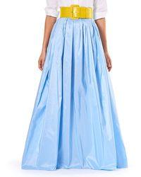 Carolina Herrera - Finale Silk Ball Skirt W/ Train - Lyst