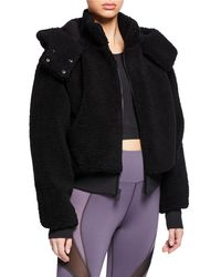 Alo Yoga - Foxy Sherpa Hooded Active Jacket - Lyst