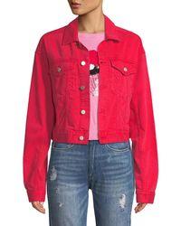 DL1961 - Annie Cropped Denim Jacket - Lyst