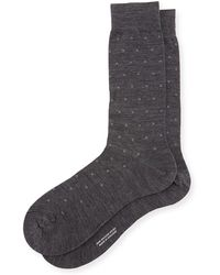 Pantherella - Banim Micro-pattern Dress Socks - Lyst
