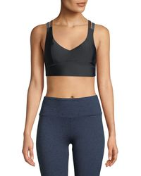 Lanston - Jaron Strappy-back Sports Bra - Lyst