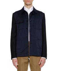 Lanvin - Men's Work Wear Knit Jacket - Lyst
