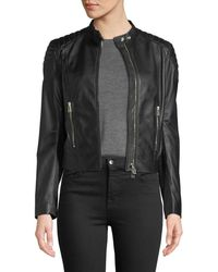 Belstaff - Mollison Soft Napa Leather Jacket - Lyst