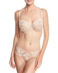 Lise Charmel - Guipure Charming Lace Demi-cup Bra - Lyst