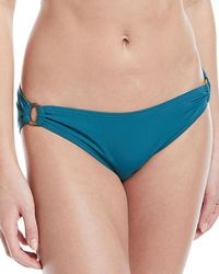 Kate Spade - Solid Classic Ring Swim Bottoms - Lyst