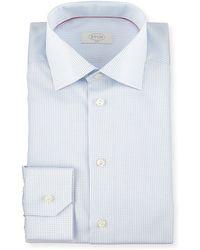 Eton of Sweden - Slim-fit Grid Check Dress Shirt - Lyst