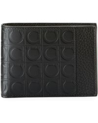 Ferragamo - Men's Firenze Gamma Bi-fold Leather Wallet - Lyst