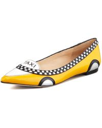 Kate Spade - Go Taxi Pointed-toe Flat - Lyst