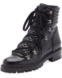 Christian Louboutin Lace-Up Combat Boots footaction for sale rfOyY7T