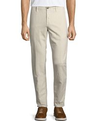 Incotex - Men's 1st Washed Chino Flat-front Pants - Lyst